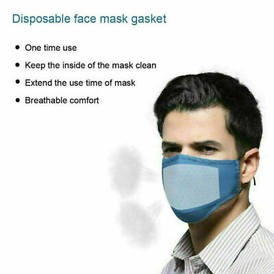 100PCS Face Mask Pad Mask Gasket Carbon Breathing Filters New Filter Activated