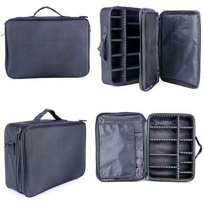 Makeup Cosmetic Case Beauty Artist Storage Bag Holder Organizer  Black fashion!