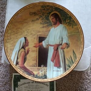Collector Plates Religious by Robert C Barrett