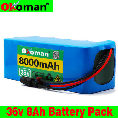 - 36V 8AH Li-ion Battery Volt Rechargeable Bicycle 500W E Bike Electric