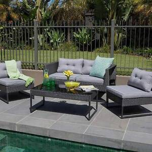 Outdoor Living Maxim 4 Piece Lounge Setting (New) Dandenong Greater Dandenong Preview