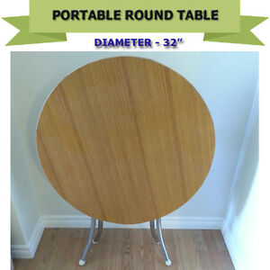 UNIQUE GAME/COFFEE/PARTY ROUND TABLE - EXCELLENT CONDITION
