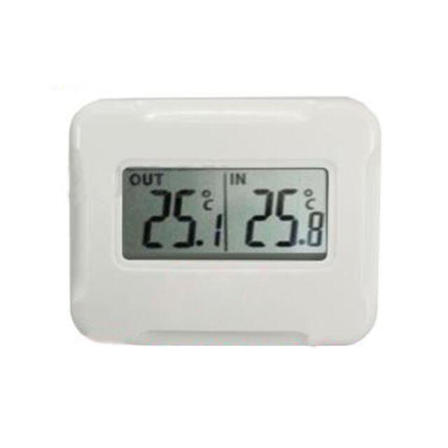 Digital Wireless LCD thermometer Indoor + Outdoor Temperature Sensor 433MHz TK