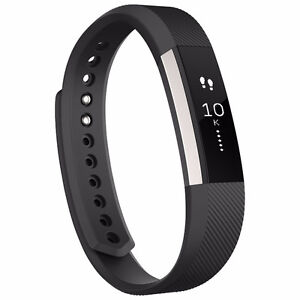 Fitbit Alta Fitness Tracker-Small Blue or Larg Black- NEW IN BOX