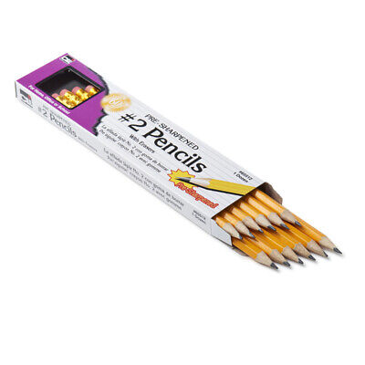 Pencil - 2 Lead Pre-sharpened With Eraser Yell