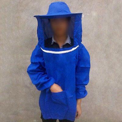 Beekeeper Jacket Beekeeping Suit Veil Smock Bee Hat Scarf Sleeve Protective