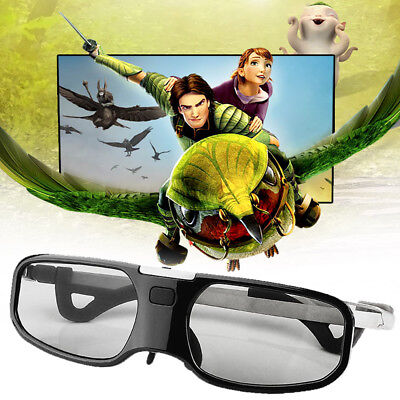 Intelligent Bluetooth HD Active 3D Glasses for Epson/Sony/Samsung Film Projector