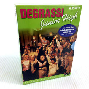 New Degrassi Junior High DVD Box Set Season 3 Final Season