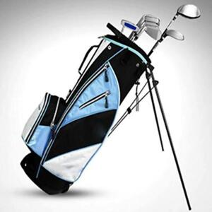 Golf Stand Bag Rack Ultra portability Men Women Pockets Large Capacity 032027
