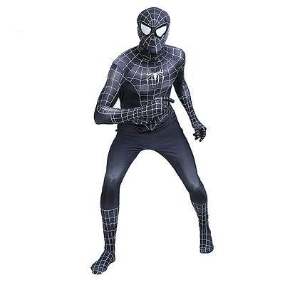 Spider-man Venom Suit Cosplay Costume Men Adult Halloween Party Zentai Bodysuit - Spider Man Halloween