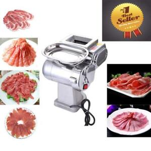 Electric Meat Slicer Stainless Steel Cutting Machine Food Cutter (028009)