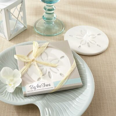 Sand Dollar Coaster Beach Wedding Shower Party Favor Gift MW30453 - Party Dollar