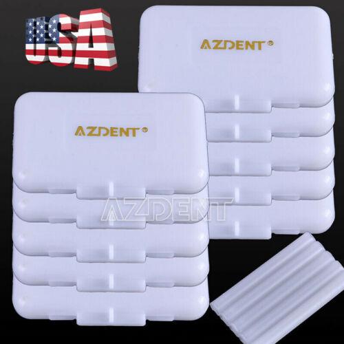 USA 10X Dental Orthodontic Wax Original Scent for Relief Braces Gum Irritation