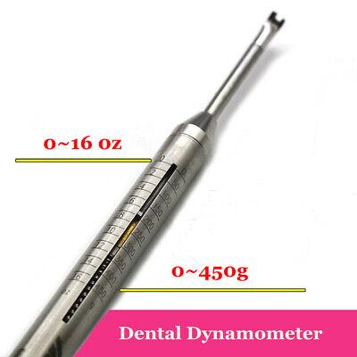1pc Dental Orthodontic Dynamometer Tension Meter Force Oral Gauge