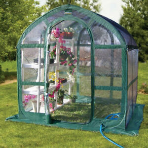 GREEN HOUSE - PORTABLE EASY UP AND DOWN - NOT USED