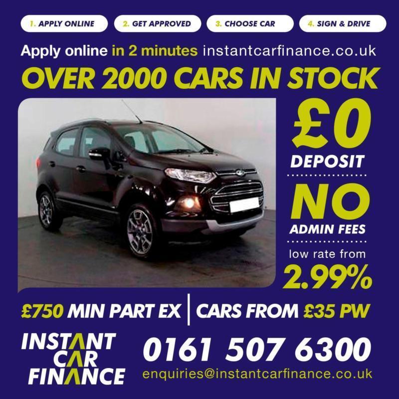 Ford Ecosport Titanium   Manual Petrol Good Bad Credit Car Finance