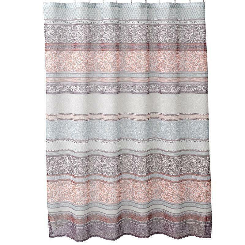Paisley Fabric Shower Curtain Ebay