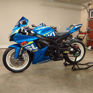 2015 Gsxr 750 Moto GP Colours Bike Is Very Clean