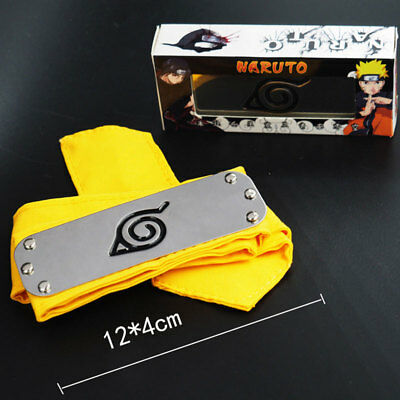 Hidden Leaf Village Headband (Anime Naruto Konohagakure Leaf Village Hidden Forehead Protector Headband)
