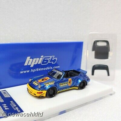 Porsche RWB 964 Targa Lim:599pcs Hpi64 MODEL 1/64