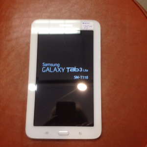 "(sold) Samsung SM-T110  7"" tablet with soft case"