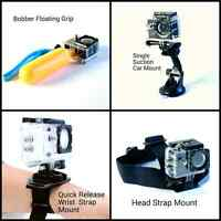 (Brand New, Quality) Gopro / Sjcam Accessories and mounts - $10