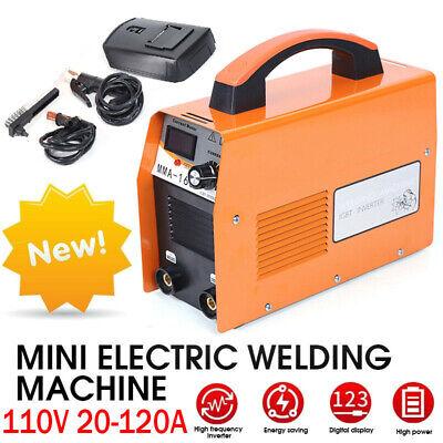 110v 120a Mini Electric Welding Machine Igbt Inverter Arc Mma Stick Welder Weld
