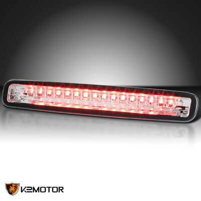 Led Crystal Clear 3rd Brake - Fit 2005-2009 Ford Mustang Crystal Clear LED Rear Third 3rd Brake Tail Light