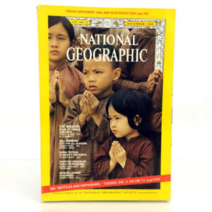 December 1968 National Geographic Magazine Single Issue Mekong