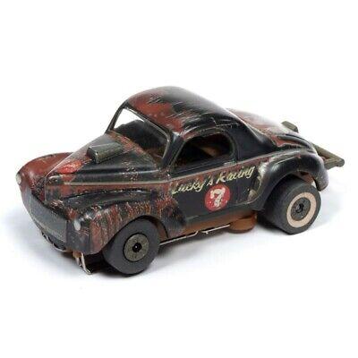Auto World 1941 Willys Gasser Thunderjet HO Slot Car Barn Finds AFX Aurora Tyco