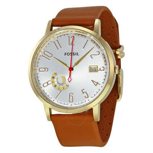 NEW Fossil Women's ES3750 Vintage Muse Gold Leather Strap Watch
