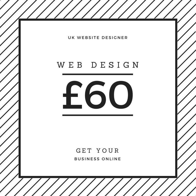 From £60 - Website, web design, development, SEO - From £60