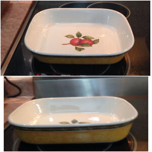 Vintage Orchard by Royal Doulton  Lasagna /casserole dish  10.5