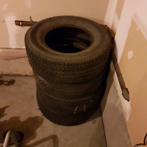 Set of 4 Michelin LTX AT2 Tires.