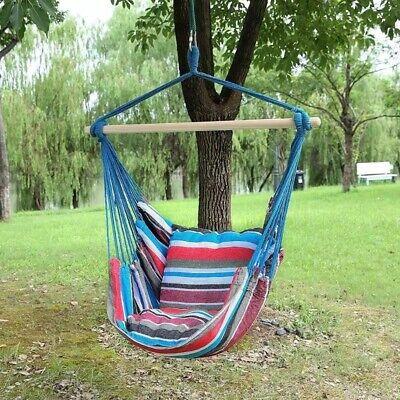 CHAISE HAMAC de Jardin Suspendu pour Camping, Maison ,TERRASSE en BALANCELLE.