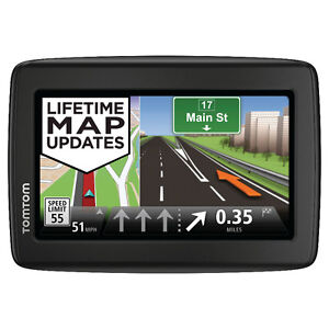 "Brand NEW TomTom VIA 1415M 4.3"" GPS with LIFETIME Map UPDATES"