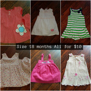 Size 18 month dresses