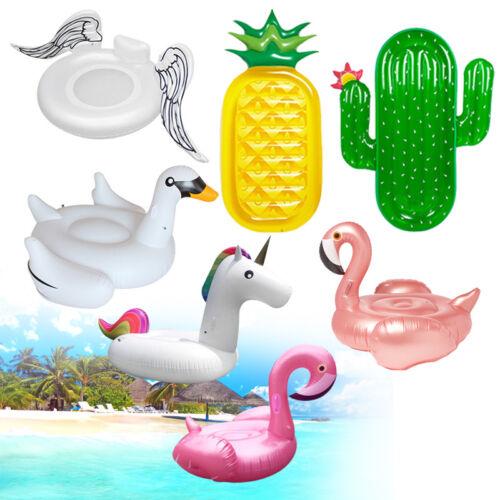 Schwimmliege Wasserliege Luftmatratze Aufblasbar Flamingo Badeinsel Pool Sessel