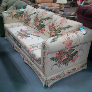 Floral Printed Sofa in Mint Condition