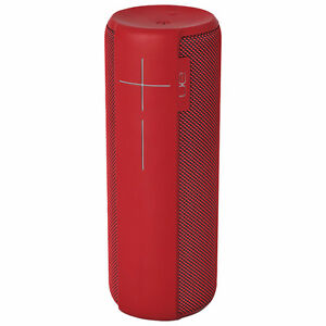 Ultimate Ears MEGABOOM Bluetooth Speaker RED - BRAND NEW
