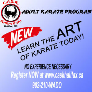 ADULT KARATE Program! Start NOW
