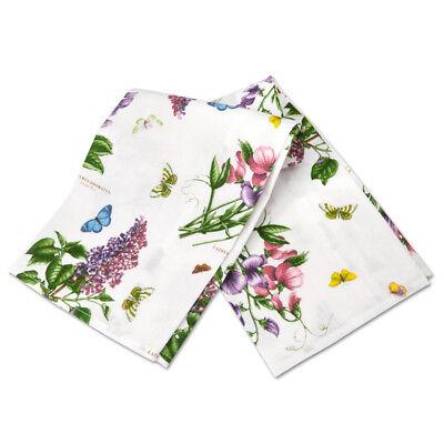 Portmeirion Botanic Garden Tea Towel Baking Cooking Kitchen Textiles
