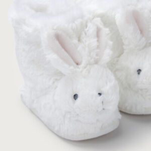 The White Company Baby Girl Bunny Booties