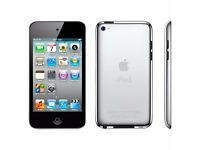 Apple iPod Touch 4th Generation Black (8GB) With Charger and Original Case
