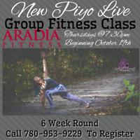 6 Week Piyo Live Group Fitness Classes