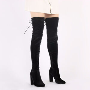 PUBLIC DESIRE - OVER THE KNEE BOOTS