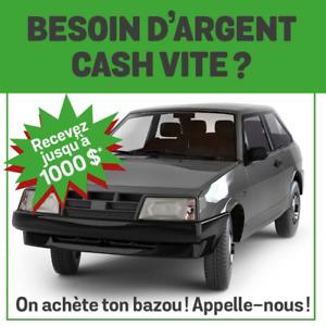 Scrap ton auto! Meilleur prix!!