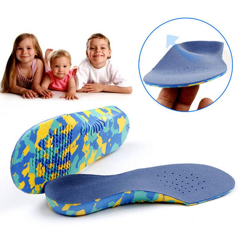 Kids Children Orthotic Insoles Orthopedic Flat Feet Arch Sup