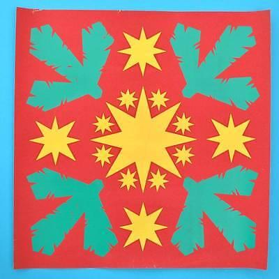 DDR Plakat Poster | IFA-Aushang Weihnachten Dekoration | 50 x 50 cm Original A