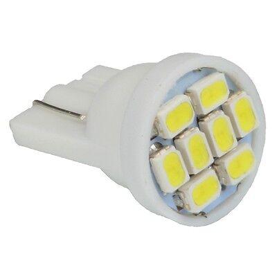 10pcs LED Light Bulbs 12v 1206 2825 194 W5W White T10 500 LM Interior Car Suv